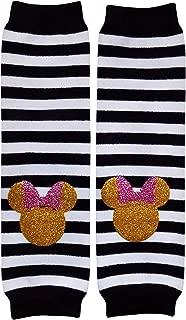 Glitter Gold Stripe, Solid, or Polka Dot Novelty Leg Warmers, One Size, Baby, Toddler, Girl, Boy
