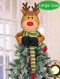 Best rudolph tree topper Reviews