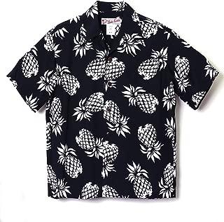 HULA KEIKI (フラケイキ) アロハシャツ【パイナップル】HK-19001 / BLACK/WH