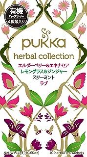 pukka (packer) selection box organic herbal tea 10TB