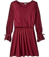 Sweater Sleeve Dress (Big Kids)