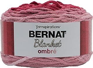 Bernat Blanket Yarn, Burgundy Ombre