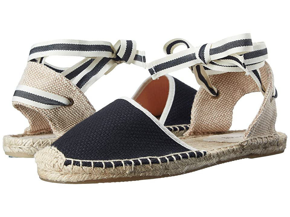 Soludos Classic Sandal (Black) Women's Sandals