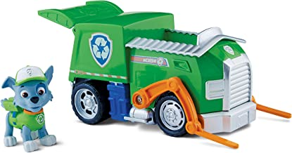 Paw Patrol Rocky's Recycling Truck, Vehicle and Figure
