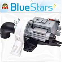 Ultra Durable W10536347 Washer Drain Pump Replacement part by Blue Stars - Exact Fit for Whirlpool Kenmore Maytag Washers - Replaces W10217134 AP5650269 W10281682