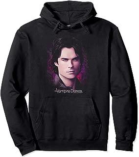 Vampire Diaries Damon Compelling Pullover Hoodie Pullover Hoodie