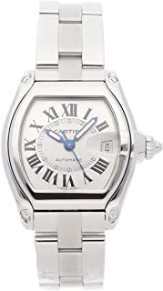 Cartier Roadster Mechanical (Automatic) Silver Dial Mens Watch W62000V3 (Certified Pre-Owned