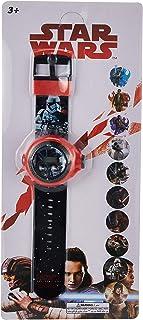 ساعة بشخصية لوكاس من ستار ورز رقمية للاولاد بضوء كشاف لعرض 10 صور مختلفة - TC1922A