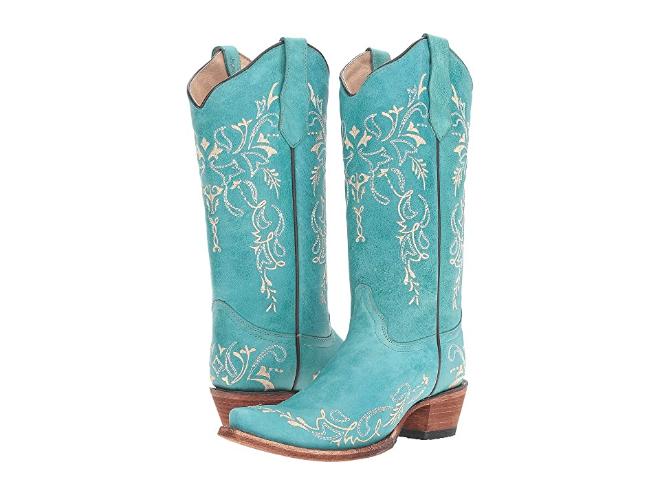 Corral Boots L5148 (Turquoise/Beige) Women