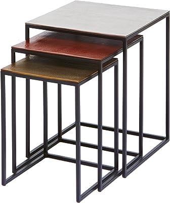 Kare Design Table d'appoint carrée Marron
