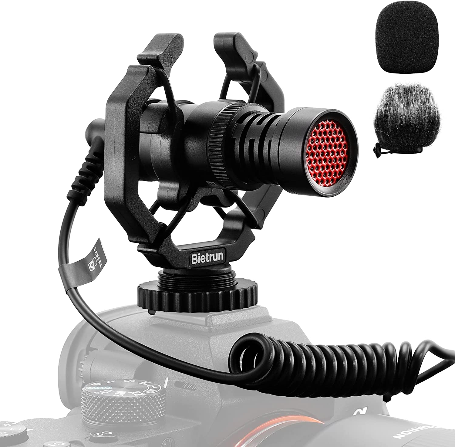 Bietrun 3.5mm TRS cable Camera Microphone $13.49 Coupon