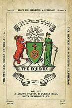 The Equinox: Keep Silence Edition, Vol. 1, No. 10