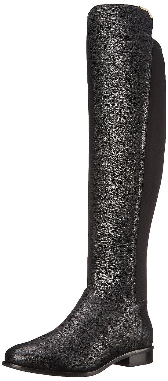 ハンバーガー成功したミスペンド[Cole Haan] Women's Dutchess OTK Motorcycle Boot, Black Leather, Size 9.0