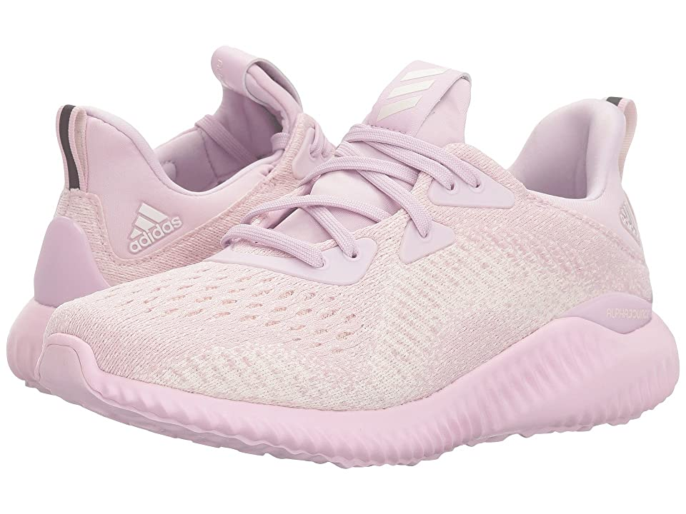 adidas Kids Alphabounce EM J (Big Kid) (Aero Pink/Chalk White) Girls Shoes