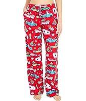 Retro Christmas Flannel Pajama Pants