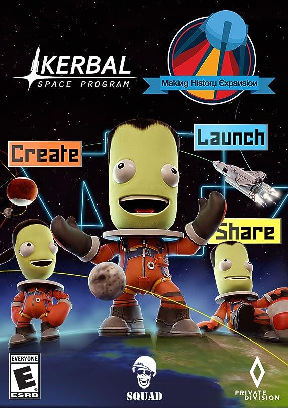 高揚した劇作家閉塞Kerbal Space Program: 人類の偉業 拡張パック[日本語版]|オンラインコード版