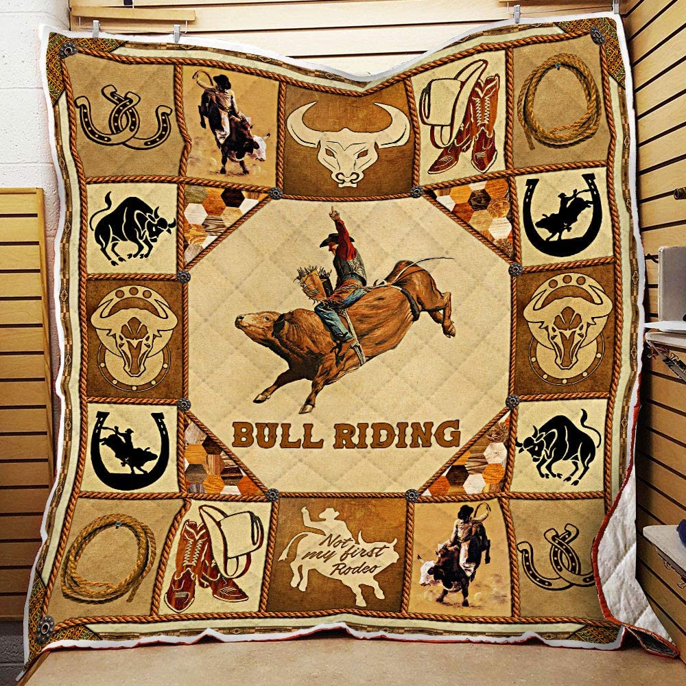DOAN Bull Riding Quilt Blanket 40% OFF Cheap Sale - with for Indefinitely Seasons All Suitable