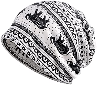 Chemo Cap Turban Headwear Womens Soft Beanie Headwrap for Hairloss