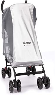 Diono Sun & Insect Net, for Strollers, Car Seats and Baby Carriers, Silver