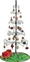 Kalalou Wrought Iron Christmas Ornament Display Tree - 83