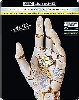 Alita: Battle Angel (STEELBOOK) (4K + 3D + Blu-ray) (3 Disc)