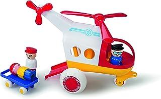 Viking Toys 1272 Viking Toys - Jumbo Ambulance Helicopter with 3 Figures & 1 Stretcher