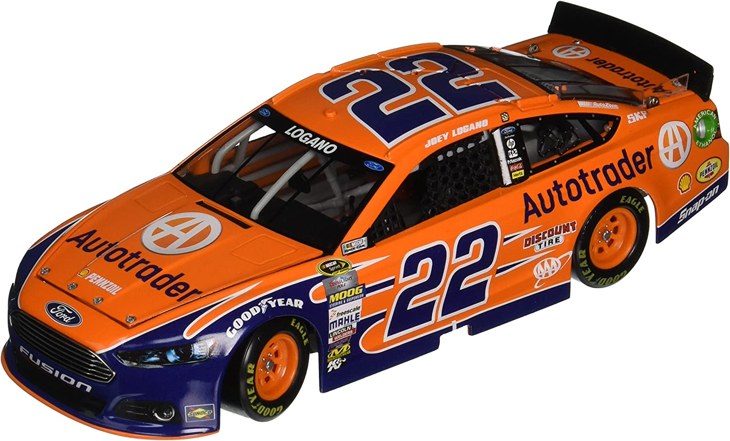 Lionel Racing Joey Logano  22 Autotrader 2015 Ford Fusion 1 24 Scale Die-cast Car