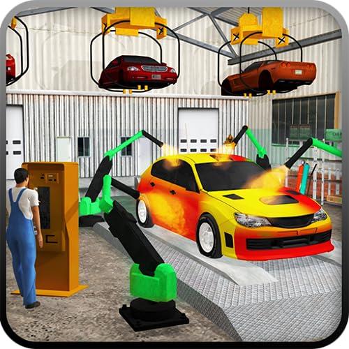 Estación de gas Coche Aparcamiento Juego Simulador Carretera Servicio Mecánico Camión de remolque Juegos gratis Para Niños 2018