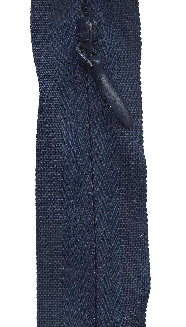 Sullivans Invisible Make-A-Zipper Kit, 4-1/2-Yard, Navy