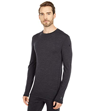 Smartwool Merino 250 Base Layer Crew (Charcoal Heather) Men