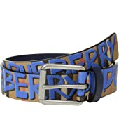 Burberry - Mark Printed Vintage Check Leather Belt