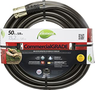 Swan Products ELIH58050 Element CommercialGRADE Industrial Water Hose with Crush Proof Couplings 50' x 5/8