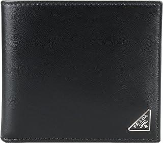 39adb9e04a674a Prada Vitello Calfskin Leather Bifold Wallet, Black (Nero)