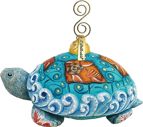 promociones de equipo G. Debrekht 68053General vacaciones adorno de caja de tortuga tortuga tortuga 3,5en.  más vendido