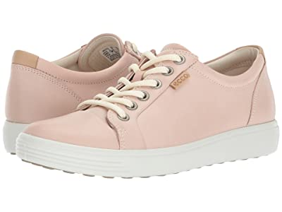 ECCO Soft 7 Sneaker (Rose Dust Cow Leather) Women