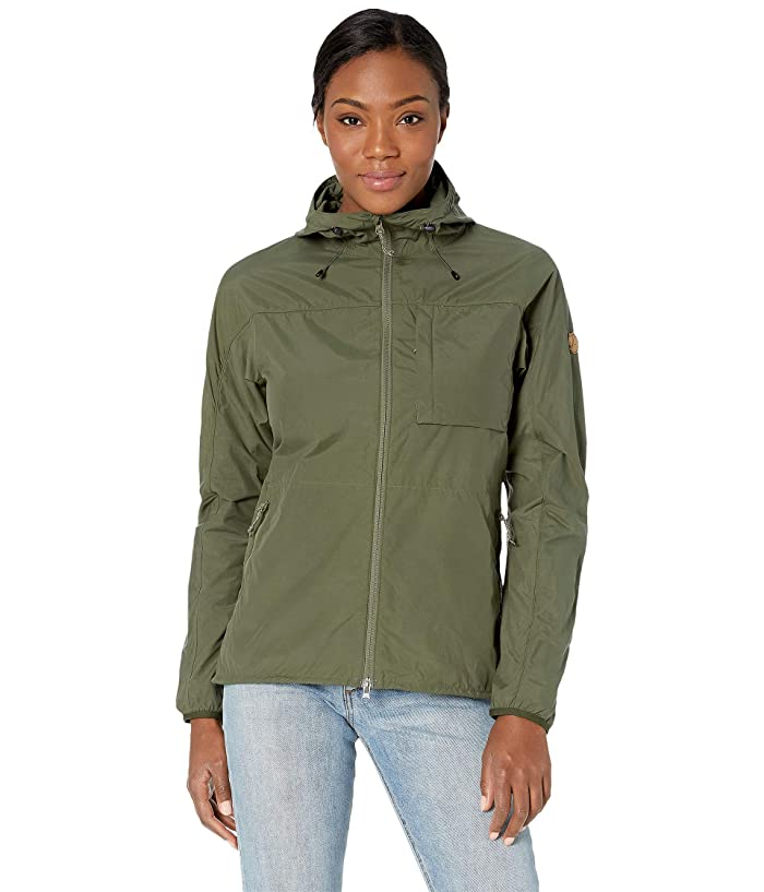 Fjallraven High Coast Wind Jacket (Laurel Green) Women