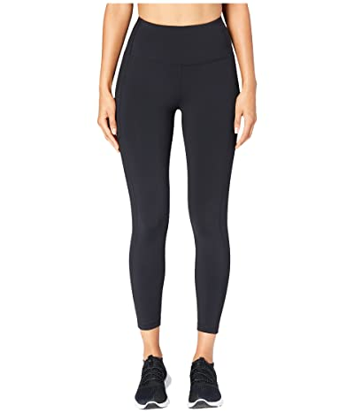 Core 10 Onstride High-Waisted Run 7/8 Crop Leggings (Black) Women