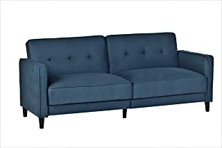 Container Furniture Direct SB-9036 Elizabeth Ultra Modern Tufted Convertible Sleeper Sofa Bed, 81