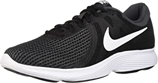 Nike Men's Revolution 4 Running Shoe, Black/White -...