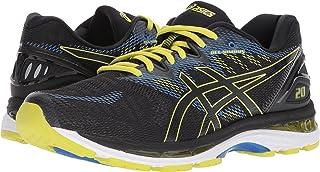ASICS Men's Gel-Nimbus 20 Running Shoe, Black/Sulphur...