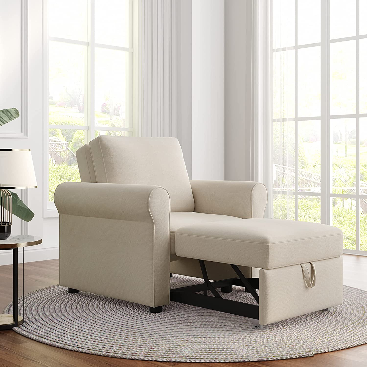 3-in-1 Sofa All stores are sold Bed Chair Popularity Merax Adju Convertible Sleeper