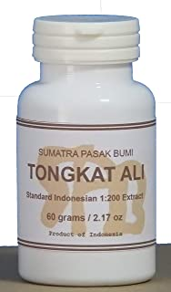 Tongkatali.org's Indonesian Standard Tongkat Ali 1:200 Extract, 60 Grams (2.17 oz)
