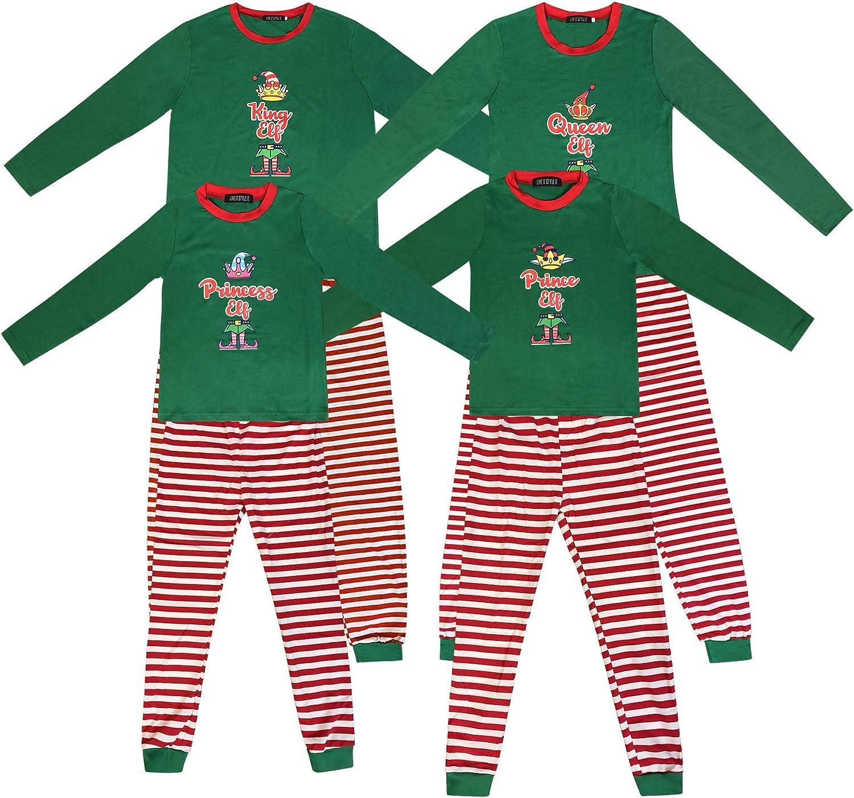 Pijamas de Navidad a Juego con la Familia Pijamas de Elfo para niños Niños Pijamas de Navidad Regalos para niñas Ropa de Dormir para Mujer Traje de ...