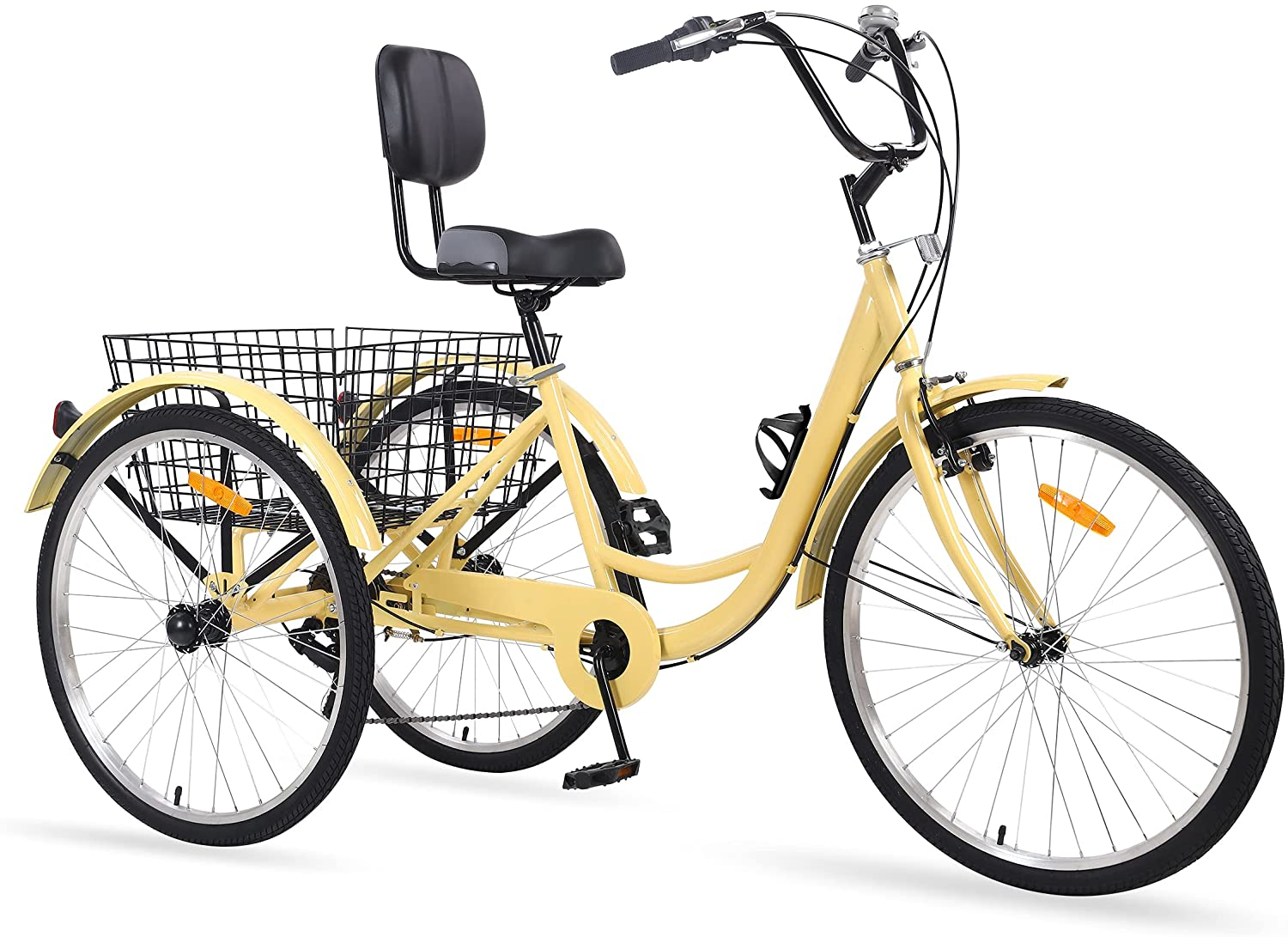 Sibosen Adult Tricycles 7 Speed Trike 26 24 20 67% OFF of fixed price Translated inch Bike