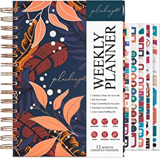 $22 » PLANBERRY Weekly Planner – Elegant Life & Budget Planner to Hit Your Goals & Live Happier - Organizer & Productivity Journ...