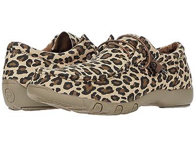 Roper Chillin Leopard (Light Beige Leopard Print Fabric) Women