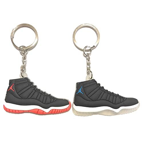 wholesale dealer b1934 a84ea WeTheFounders Shoe Sneaker Keychains AJ-Retro 11 2 Pack