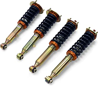 Yonaka 28 Way Adjustable Performance Coilover Suspension for Lexus 1998-2005 GS 300 400 430 RWD