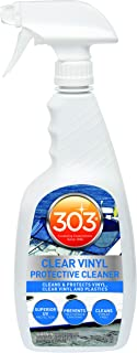 303 (30215-6PK) Clear Vinyl Protective Cleaner - Cleans And Protects Vinyl, Clear Vinyl, And Plastics - Superior UV Protec...