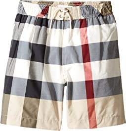 Burberry Kids - Mini Jeffries Swim Trunk (Little Kids/Big Kids)
